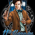 11th Doctor - Eleventh Heaven by Patrick Scullin