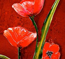 Silken Poppies... by ©Janis Zroback