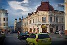Chernivtsi, Philharmonia Square by Yuri Lev