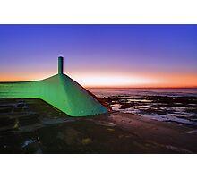 My Green Submarine Photographic Print