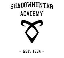 Welcome to Shadowhunter Academy Photographic Print