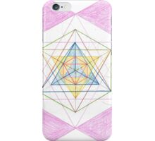 0109 - Geometrie With Funny Circles iPhone Case/Skin