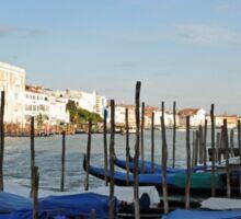 Venice gondolas Sticker