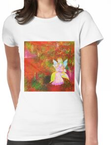 """"""" The music, it is what there is between notes """"  Womens Fitted T-Shirt"""