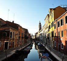 Venice canal by Jaime Pharr