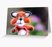 Jim the Fox Greeting Card