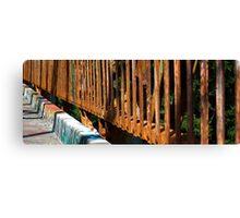 Rusty Railings Canvas Print