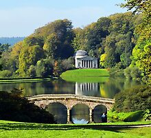 The Pantheon at Stourhead 2 ~ Wiltshire  by Susie Peek