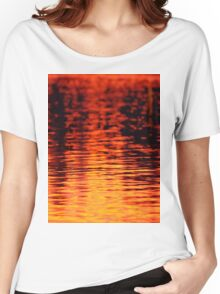 Sunrise Reflections On The Lake Women's Relaxed Fit T-Shirt