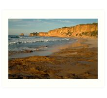 Morning, Split Point,Great Ocean Rd Art Print