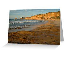 Morning, Split Point,Great Ocean Rd Greeting Card