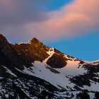 Alaskan Range at Sunset by HouseofSixCats