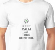 Keep Calm Take Control - Survival Gear Authority Unisex T-Shirt