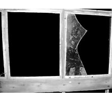 Broken Panes Photographic Print