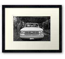Toe Truck Framed Print