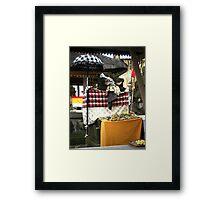 Market Temple, Ubud, Bali Framed Print