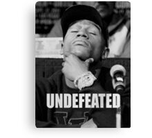 Undefeated Canvas Print