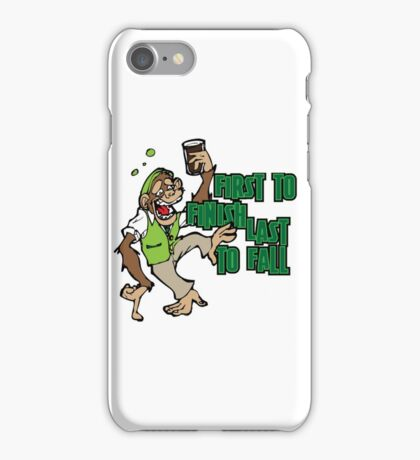 Drunk Monkey iPhone Case/Skin