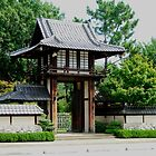 Japanese Gate by Charles Buchanan