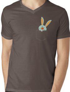 POCKET PALS :: bunny rabbit 2 Mens V-Neck T-Shirt