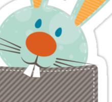 POCKET PALS :: bunny rabbit 2 Sticker