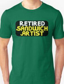 Retired Sandwich Artist Unisex T-Shirt