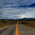 Colorado Country Road by Angela  Ardis