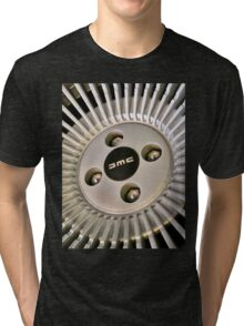 DMC Delorean Wheel Tri-blend T-Shirt
