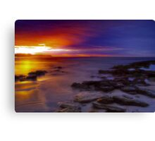 """Dawn Advance"" Canvas Print"