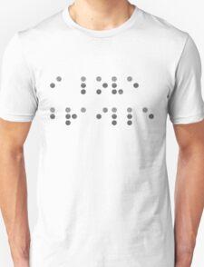 I Love Braille T-Shirt