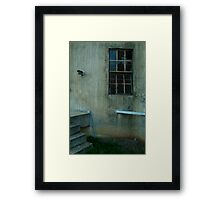 Disused Grain Silo Framed Print