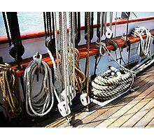 Sailing Ship Elisa Lines Photographic Print