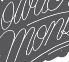 Powder Monkees by YLSC Sticker Sticker