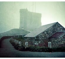 Tower in the Fog by fixtape