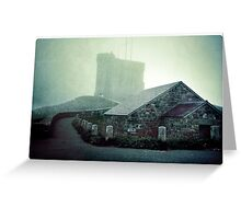 Tower in the Fog Greeting Card