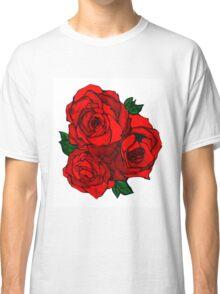 Watercolor Rose Classic T-Shirt