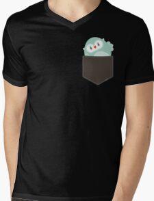 POCKET PALS :: owl - foam Mens V-Neck T-Shirt
