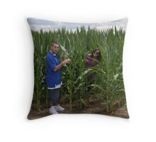 Country Hide-and-Seek Throw Pillow