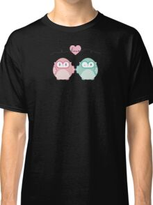 OWLS IN LOVE :: pastel Classic T-Shirt