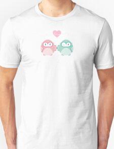 OWLS IN LOVE :: pastel Unisex T-Shirt