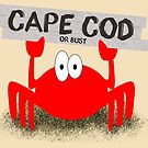 Cape Cod or Bust! Crab by ChristaJNewman