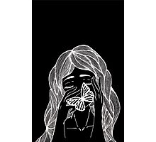 Girl Inverted Photographic Print