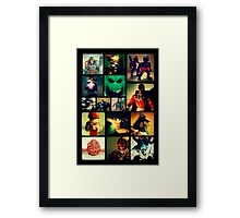 Toys from the Before Now Framed Print
