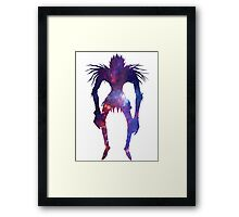 Space Shinigami  Framed Print