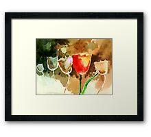 Tulips1 Framed Print