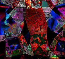 Red Dress by Rois Bheinn Art and Design