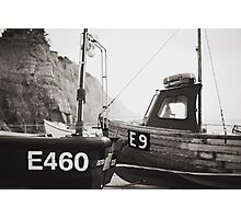 Those boats which lay upon the land. Photographic Print
