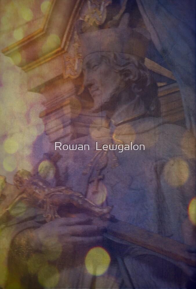 Cradling faith in my arms by Rowan  Lewgalon