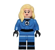 LEGO Invisible Woman / Sue Storm by jenni460