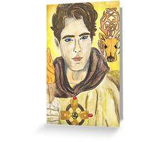Aidan of Lindisfarne Greeting Card